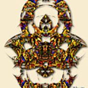 Sweet Symmetry - Kiss Art Print