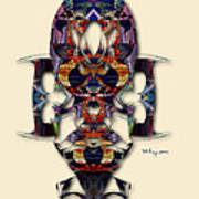 Sweet Symmetry - Projections Art Print