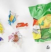 Sweets Art Print by Bav Patel