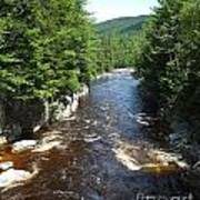 Swift River Below Rocky Gorge New Hampshire White Mountains Art Print