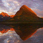 Swiftcurrent Reflection Art Print