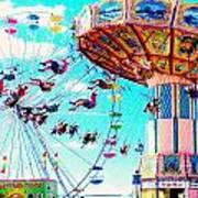 Swingers Have More Fun Art Print
