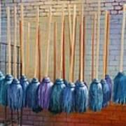 Swinging Blues Art Print