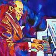 Swinging With Count Basie Art Print