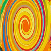Swirl 80 Art Print