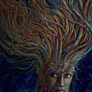 Swirling Beauty Art Print