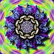 Swirling Crown Art Print