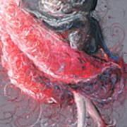 Swirling Swirls Art Print by Rachael Curry