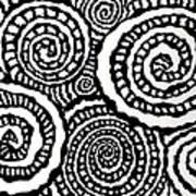 Swirly Twirly 2 Art Print