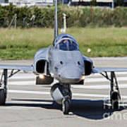 Swiss Air Force F-5e Tiger Recovering Art Print