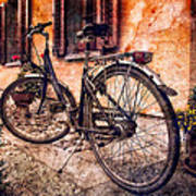 Swiss Bicycle Art Print