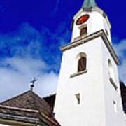 Swiss Church Art Print