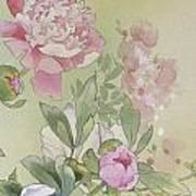 Syakuyaku Crop II Art Print