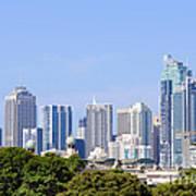 Sydney City Skyline Art Print