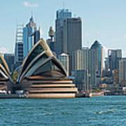 Sydney Opera House And Waterfront Art Print