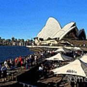 Sydney Opera House Bar Art Print