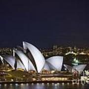 Sydney Opera House In Australia Art Print