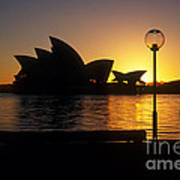 Sydney Sunrise Art Print
