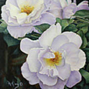 Sydneys Rose Oil Painting Art Print