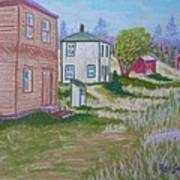 Syds Place Eastern Points Island Art Print