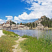 Sylvan Lake Trail In Custer State Park-south Dakota Art Print