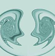 Symmetry Art Print by Soumya Bouchachi