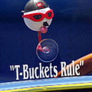 T-buckets Rule Print by Jill Reger