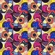 T J O D Tile Variations 14 Art Print