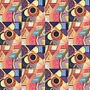 T J O D Tile Variations 19 Art Print