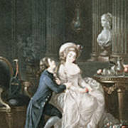 T.2342 Lamant Ecoute, 1775 Art Print
