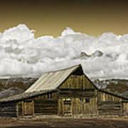 T.a. Moulton Barn In The Grand Tetons Art Print