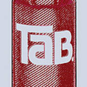 Tab Ode To Andy Warhol Art Print