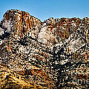 Table Mountain In Winter 42 Art Print