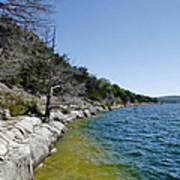 Table Rock Lake Shoreline Art Print
