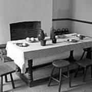 Colonial Table Art Print
