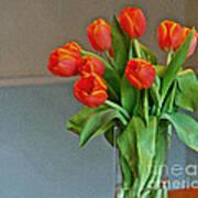 Table Top Tulips Art Print