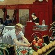 Tables For Ladies Art Print by Edward Hopper