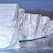 Tabular Iceberg Art Print