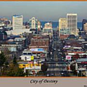 Tacoma City Of Destiny Art Print
