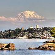 Tacoma City Skyline Art Print