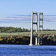 Tacoma Narows Bridge 54 Art Print