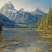 Taggart Lake Shallows Art Print