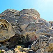 Tagged Rocks Art Print