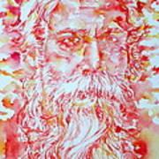 Tagore Art Print