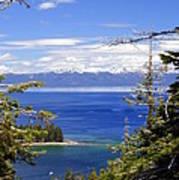 Tahoe Blue Art Print