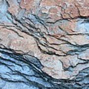 Tahoe Rock Formation Print by Carol Groenen