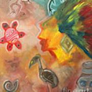Taino Symbol Art Print