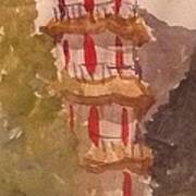 Taiwan Pagoda Art Print