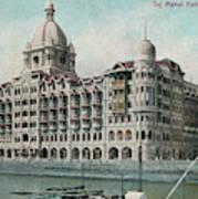 Taj Mahal Hotel, Bombay (mumbai) Art Print