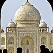 Taj Through The Gates Art Print